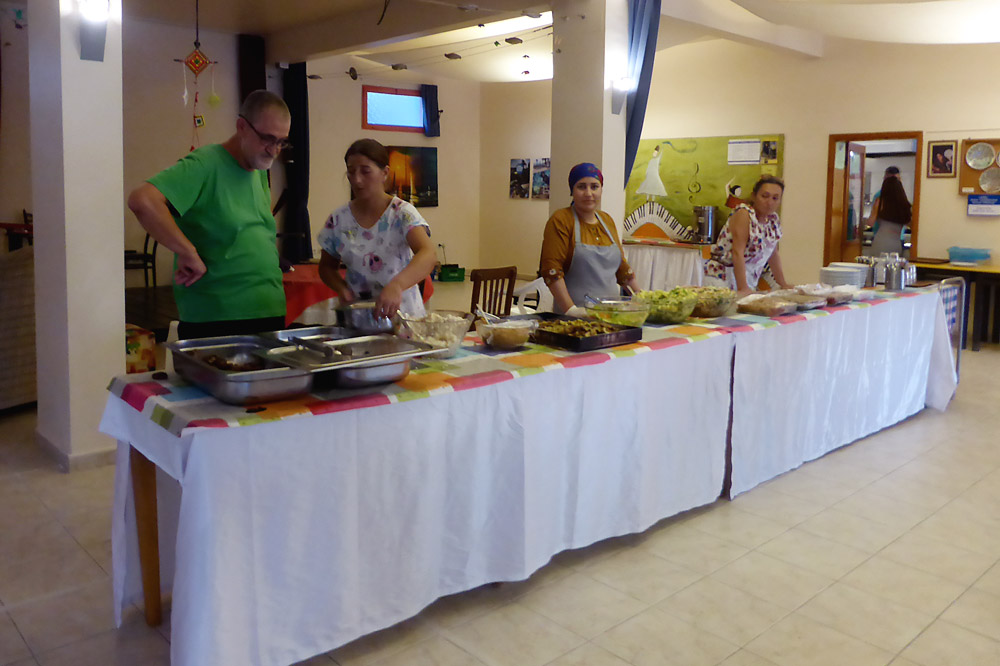 Grillabend – Buffet in der Cafeteria